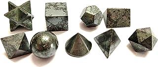 Jet International Energized Authentic Wow A ++ hematiet 9 stenen  heilige geometriesets gesymboli...