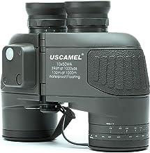 USCAMEL 10×50 Fernglas, Entfernungsmesser Kompass HD Ferngläser Hochleistung