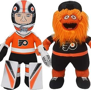 Bleacher Creatures Philadelphia Flyers Bundle: Carter Hart and Mascot Gritty 10