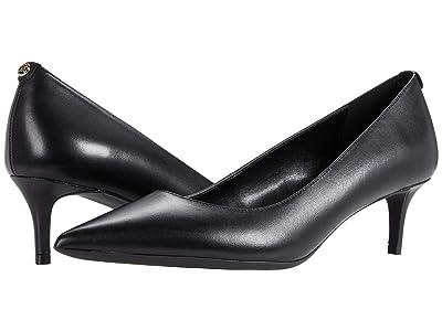 MICHAEL Michael Kors Sara Flex Kitten Pump (Black) Women