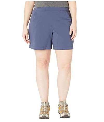 Columbia Plus Size Anytime Casualtm Shorts (Nocturnal) Women