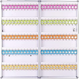 Deli 50803 Key Cabinet for 120 Keys, 398 x 782 x 63mm