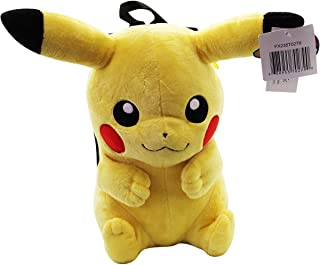Pokemon Pikachu Stuffed Plush Backpack for Kids