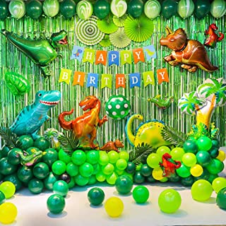 Birthday Party Backdrop Decorations Dinosaur Balloon Theme Party Supplies Backdrop Decorations For Birthday Party