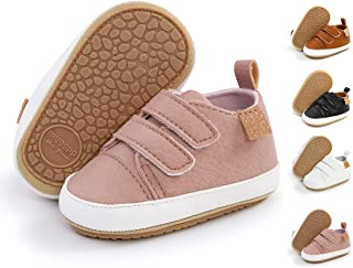 TAREYKA Infant Baby Boys Girls' Sneakers Soft Anti-Slip Soft Sole Newborn Toddler Baby First Walker Outdoor Shoes Crib Shoes