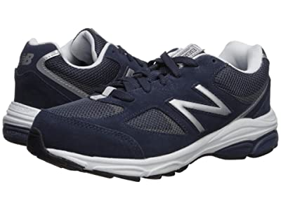 New Balance Kids GK888v2 (Big Kid) (Navy/Grey) Boys Shoes