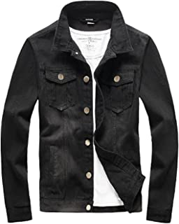 mens skinny denim jacket
