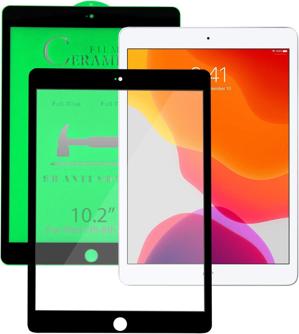 KIQ iPad 10.2 Genuine Free Shipping 8th 7th Gen Clear Protector Product Ceram Flexible Screen