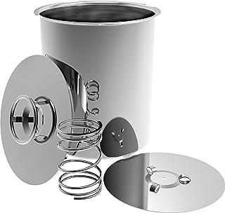 comprar comparacion Jamonero eléctrica Impresión Jamonero Hervidor 1,5kg 3kg eléctrica Jamonero Prensa suflés eléctrica, acero inoxidable, f...