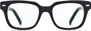 Boca Blu Blue Light Blocking Reading Glasses | UV Light Filtering Anti Glare High Optical Quality Glasses for Men/Women (+1.0, Poseidon Matte Black)