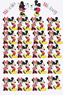 Mickey Minnie: disney planner- lined journal notebook college ruled ,Perfect notebook for MICKEY AND MINNIE MOUSE lovers .