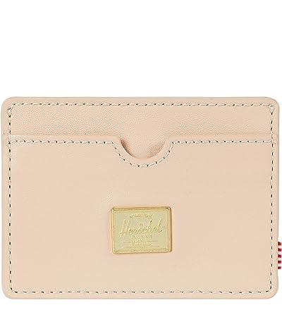Herschel Supply Co. Charlie Leather RFID (Natural) Wallet