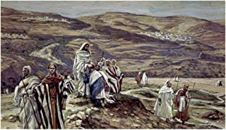Global Gallery Art on a Budget James Tissot Christ Sending Out The Seventy Disciples Two Unframed Giclee on Paper Print, 12 5/8