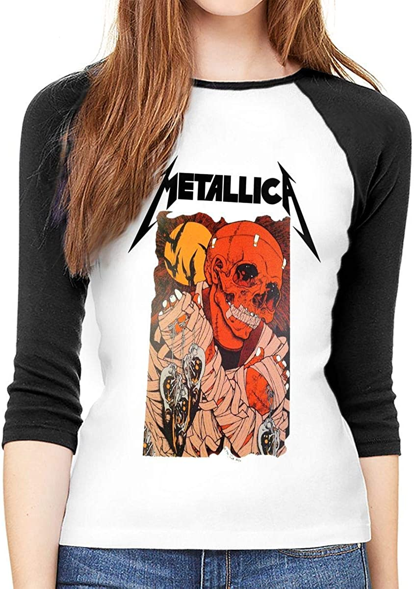 AlbertV - Camiseta de manga larga para mujer, cuello redondo ...
