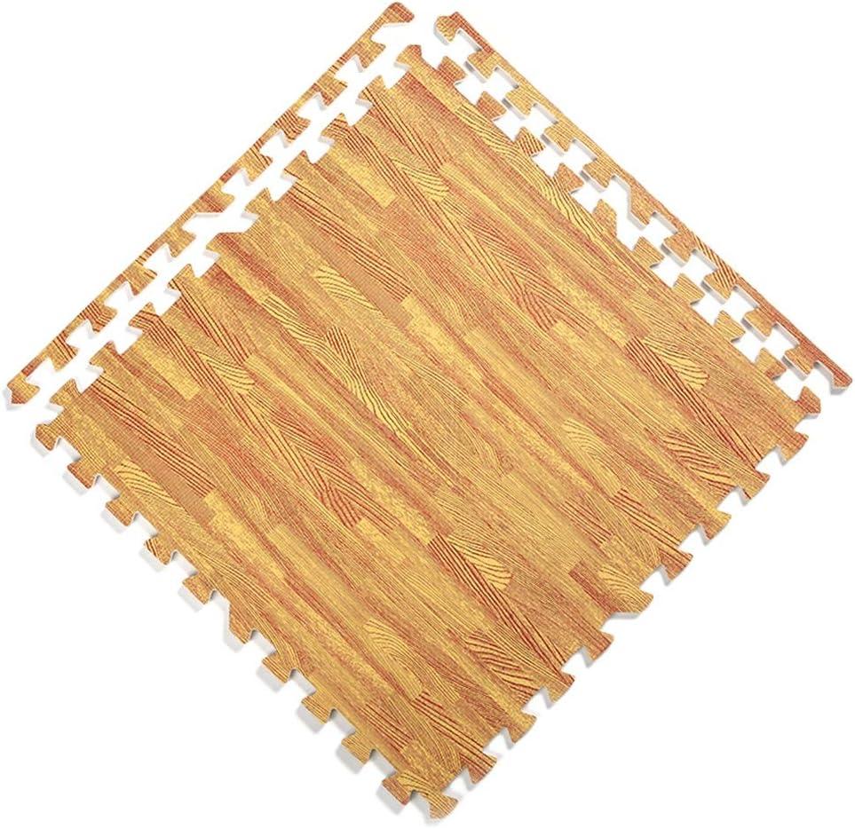 JIAJUAN Square Alternative dealer Interlocking Wood Grain Dur Foam Puzzle Kids Mats 67% OFF of fixed price