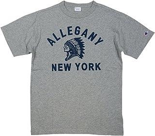 (チャンピオン)Champion トリコロールタグ カレッジプリント 半袖 Tシャツ