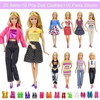 6-Pattern Pack  For Barbie  Doll Patterns #4 Bonus