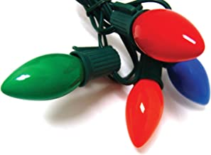 Good Tidings Northlight Holiday Light Set, 25-Lights, Ceramic Multi-Colored C9