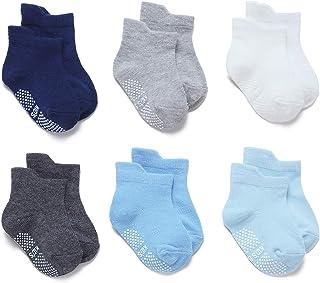 Calcetines Antideslizantes Cortos para Bebé Niños