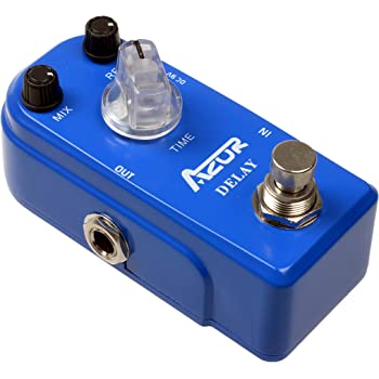 AZOR Vintage Analog Delay Guitar Effect Pedal with True Bypass