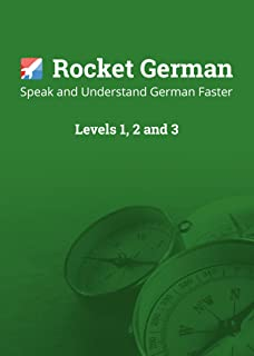 Learn German - Rocket German Level 1, 2 & 3 Bundle. The best value German course to learn, speak and understand German fast. Over 360 hours of German lessons for Mac, PC, Android & iOS (3 items)