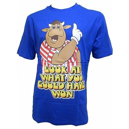 Bullseye TV Show Darts Official Blue T Shirt