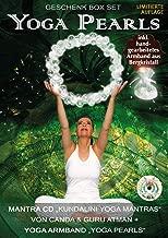 """Yoga Pearls Geschenk Box mit Mantra #34;Kundalini Yoga Mantras"""" + Yoga Armband """"Yoga Pearls"""""""
