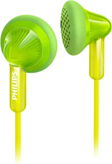 Philips SHE3010GN Earbud Headphones, Green