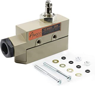 Awoco TZ-6003-20A Micro Door Switch w/Roller Plunger for Awoco, Maxell, Welbon, Pioneer, or Mars Air Curtains (Mars TZ6112 Combo Microswitch 42151 Equivalent)