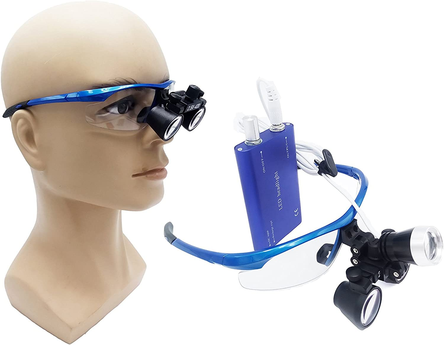 Sale discount price Zgood Portable Surgical Binocular Glass Optical Loupes 2.5X420mm