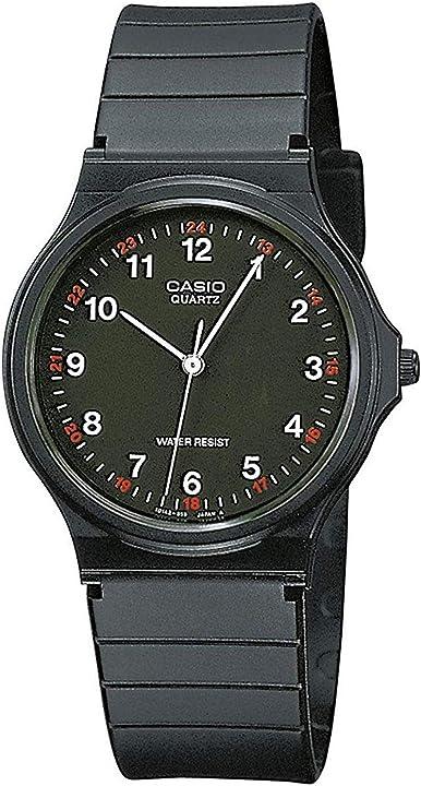 Casio orologio da uomo MQ-24-1BLLGF