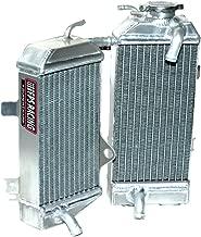 Fluidyne FPS11-DRZ400SM-L Power-Flo Left Side Radiator for Suzuki DRZ400S/SM