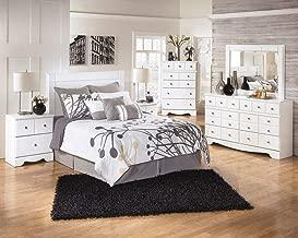 Ashley Weeki 2 Drawer Wood Nightstand in White