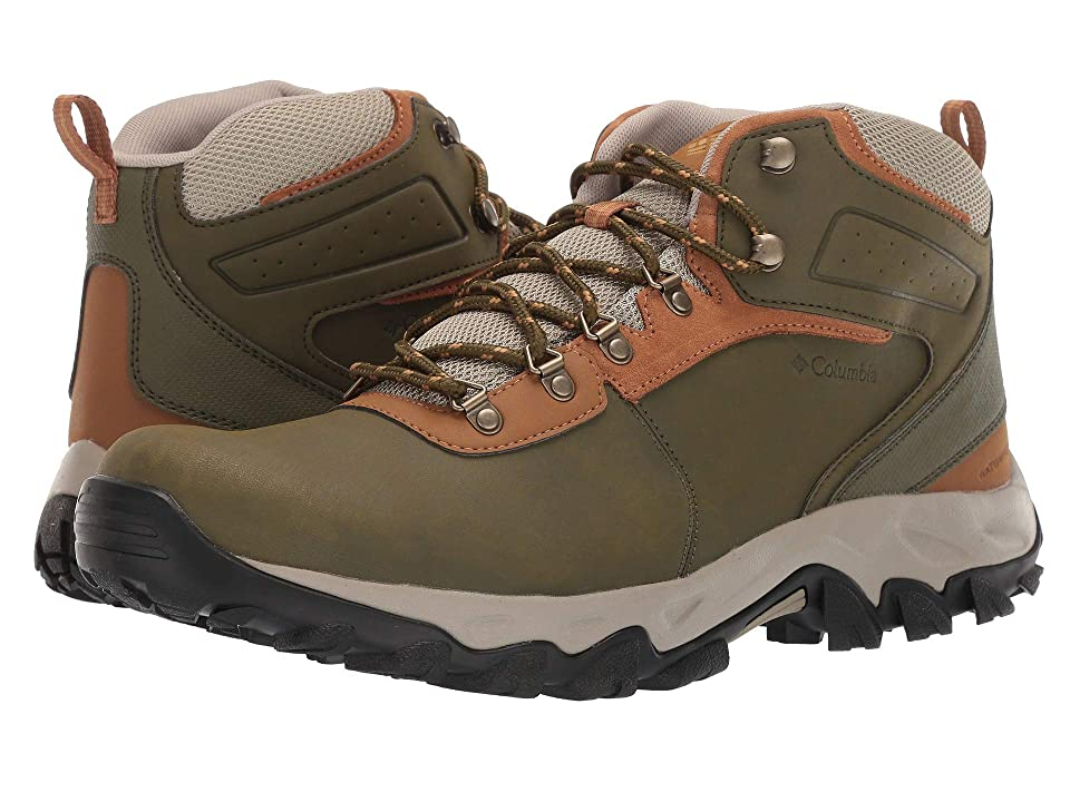 Columbia Newton Ridge Plus II Waterproof (Silver Sage/Dark Banana) Men
