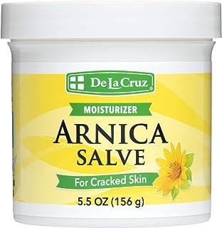 De La Cruz Arnica Salve for Cracked Skin, No Preservatives, Artificial Colors or Fragrances, Allergy-Tested, Made in USA, ...