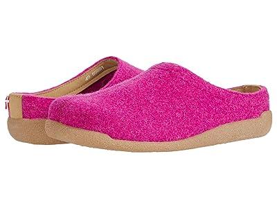 Sanita Lodge Slide (Fuchsia) Shoes