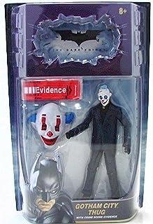 The Dark Knight Movie, Movie Masters, Gotham City Thug [Happy Mask] Action Figure, 6 Inches