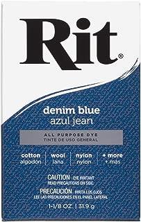 Rit, Denim Blue Purpose Powder Dye, 1-1/8 oz