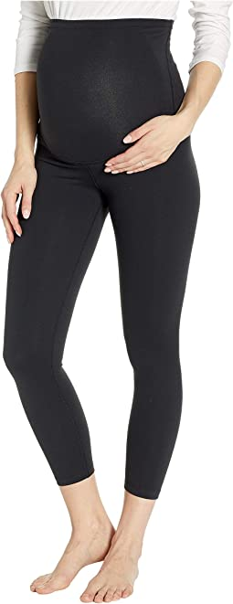 Maternity Empire Waisted Capri Leggings