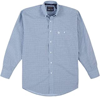 Wrangler Men's George Strait One Pocket Button Long Sleeve Woven Shirt