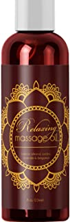 Relaxing Massage Oil – Intense Aromatherapy Oil for Erotic Massages & Sore..