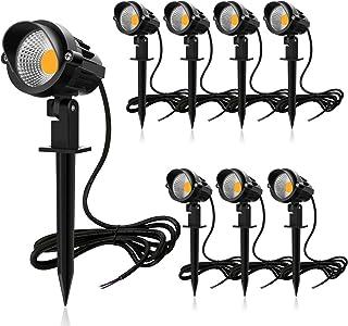 MEIKEE 7W LED Landscape Lights Pathway Lights Low Voltage Spotlights LED Landscape Lights..
