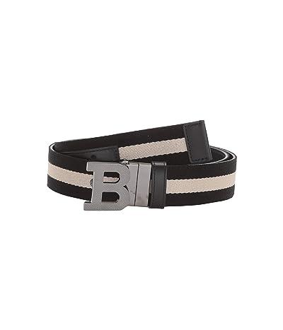 Bally B Buckle Belt (Black 1) Men