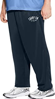 Champion Men's Big and Tall Open Bottom Performance Pants