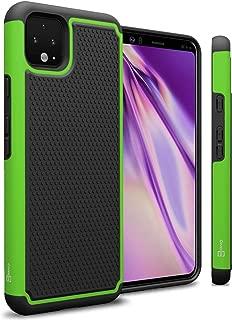 CoverON Heavy Duty Hybrid HexaGuard Series for Google Pixel 4 XL Case, Green