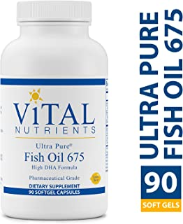 Vital Nutrients - Ultra Pure Fish Oil 675 High DHA (Pharmaceutical Grade) - Hi