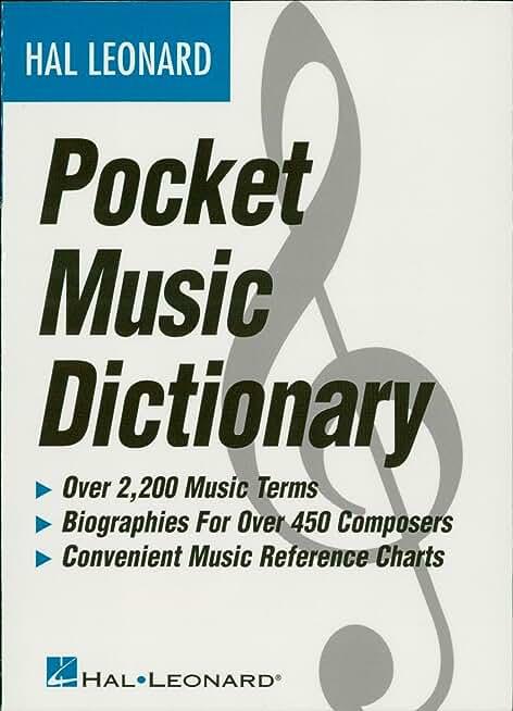 The Hal Leonard Pocket Music Dictionary (English Edition)
