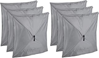 Clam Quick Set Screen Hub Gray Fabric Wind & Sun Panels, Accessory Only (6 Pack)