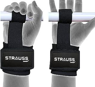 Strauss ST Cotton Gym Support, Pair (Black)