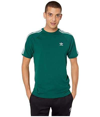 adidas Originals BLC 3-Stripes Tee (Collegiate Green) Men